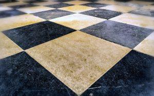 cover tile floor