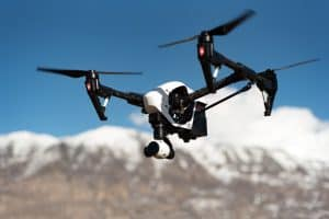 who invented the quadcopter