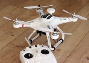 first rc drone
