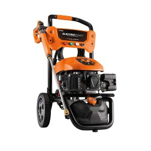electric start pressure washer