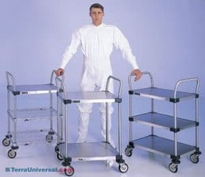clean room carts